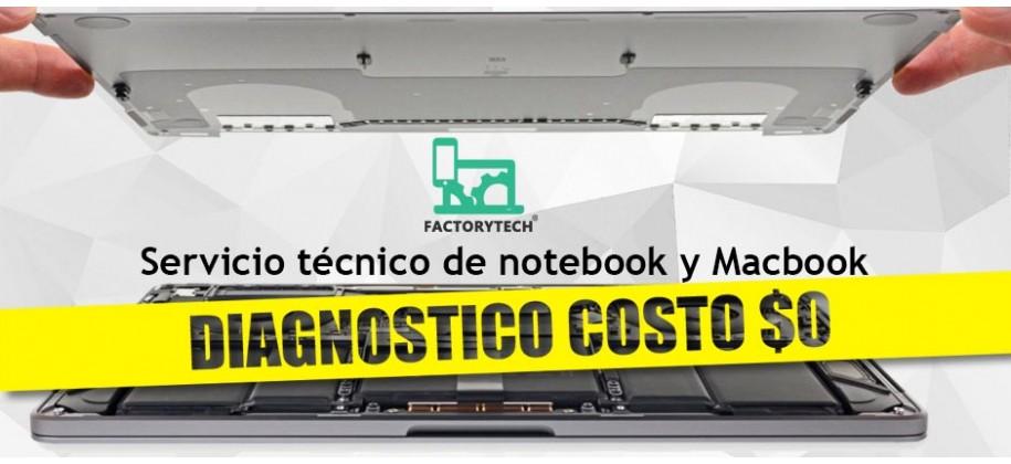 Servicio técnico Macbook, notebook y PC