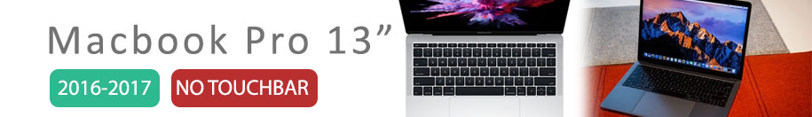 Macbook Pro No Touch Bar 13 (A1708)