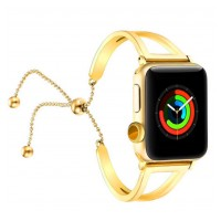 Correa Para Applewatch Metálica Mujer 01 Gold 42mm / 44mm