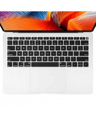Protector Teclado Macbook Air 2018 INGLES A1932 Negro