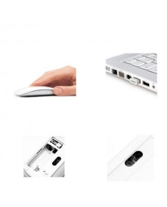Mouse Inalambrico RF Scroll Tactil Tipo Apple Magic