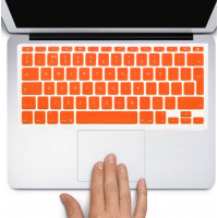 Protector Teclado Macbook Pro / Air / Retina 13  Naranja