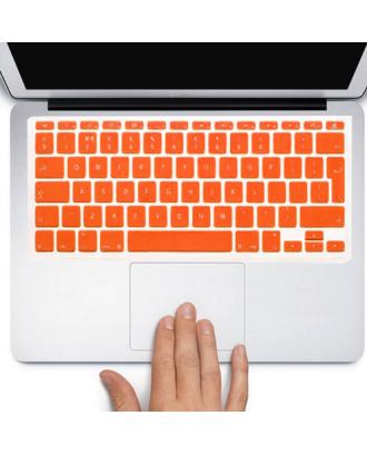 Protector Teclado Macbook Pro / Air / Retina 13  Naranja
