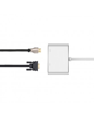 Cable Mini Display Port Thunderbolt a VGA y HDMI  macbook