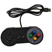 Joystick Usb Pc Diseño Snes