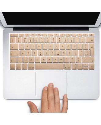 Protector Teclado Macbook Pro / Air / Retina 13  Dorado
