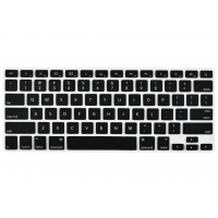 Protector Teclado ingles Macbook Pro / Air / Retina 13 - Negro