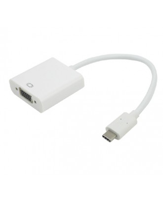 Adaptador Usb-C A VGA  New Macbook Notebook