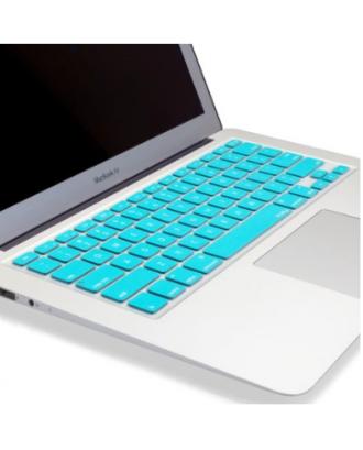 Protector Teclado Macbook Pro / Air / Retina 13 Turquesa  Ingles