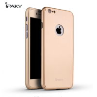 Carcasa 360 grados iphone 6 plus ipaky dorado
