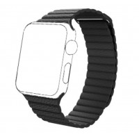 Correa Para Applewatch magnetica negro 42mm