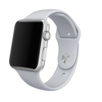 Correa Applewatch Silicona Deportiva Gris 38mm / 40mm