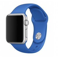 Correa Para Applewatch Silicona Deportiva Azul Royal 38mm
