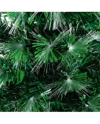 Arbol de Navidad Led Fibra Optica 1.80mt adornos