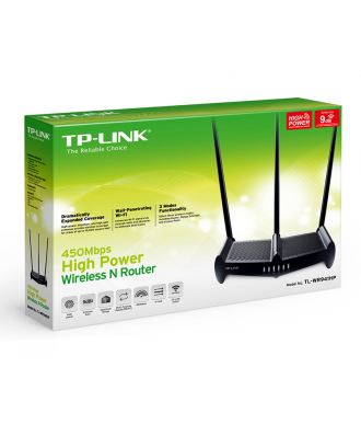 Router Inalambrico Alta Potencia TP-Link TL-WR941HP 450mbps