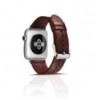 Correa Cuero Clasica Applewatch 42mm Urvoi Cafe Nogal