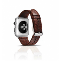 Correa Cuero Clasica Applewatch 42mm Urvoi Nogal