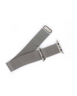 Correa Para Apple Watch silver  Loop Milanese Magnetica Acero 38mm / 40mm