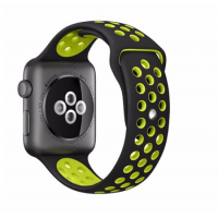Correa Applewatch  Deportiva Negro Volt 38mm