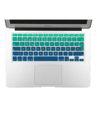 Protector Teclado Macbook Pro / Air / Retina 13 Degrade Verde
