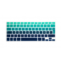 Protector Teclado Macbook Pro 13 / 15 Touch Bar Degrade Verde