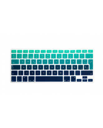 Protector Teclado Macbook Pro / Air / Retina 13 Degrade Verde