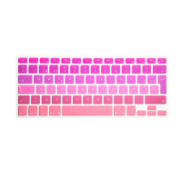 Protector Teclado Macbook Pro / Air / Retina 13 Degrade Rosado