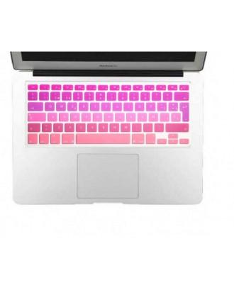 Protector Teclado Macbook Pro / Air / Retina 13 Degrade Rosado