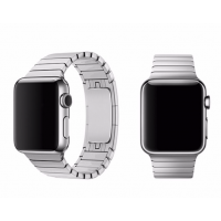 Correa Applewatch Acero Link Silver 38mm