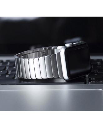 Correa Para Applewatch Acero Link Rose 42mm / 44mm