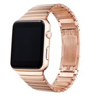 Correa Para Applewatch Acero Link Rose 38mm / 40mm