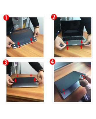 Carcasa New Macbook Pro 15 Touch Bar A1707 A1990 Rosada