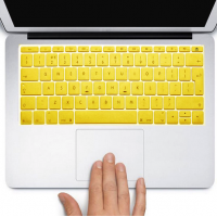 Protector Teclado Macbook Pro / Air / Retina 13 Amarillo