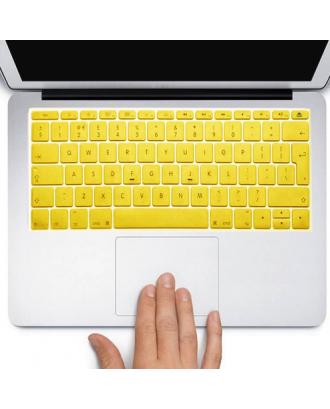 Protector Teclado Macbook Pro / Air / Retina 13 Amarillo