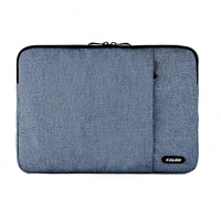 Funda New Macbook Pro 13 Con y Sin Touchbar Azul Acolchada Kalidi