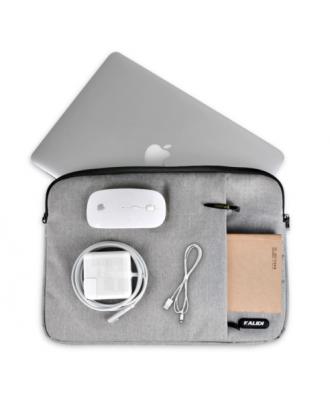 Funda Macbook Pro 13 Con Y Sin Touchbar Burdeo Acolchada Kalid