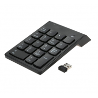 Teclado Numerico Inalámbrico USB Macbook Notebook Negro