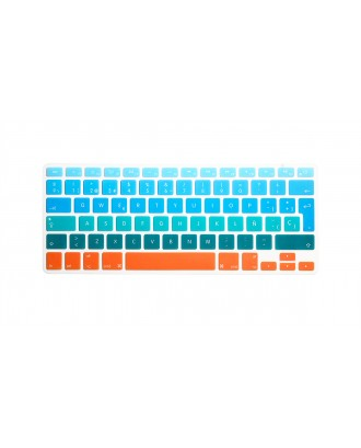 Protector Teclado Macbook Pro / Air / Retina 13 Tricolor