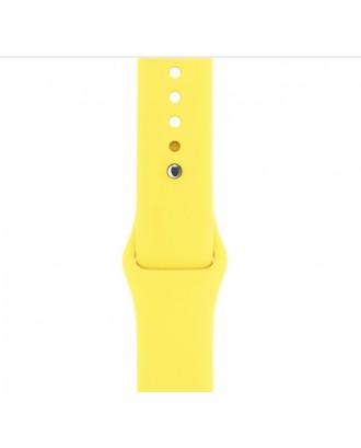 Correa Para Applewatch Silicona Deportiva Amarilla 38-40mm Alt