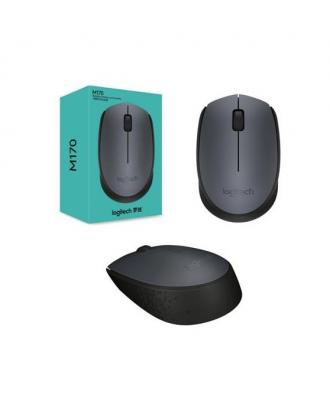 Mouse Inalámbrico Wireless Logitech M170 Gris