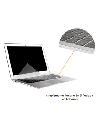 Protector Teclado Notebook Silicona Transparente