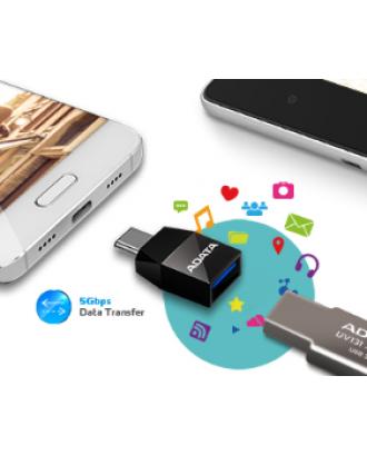 Adaptador USB-C a USB 3.1 Macbook Notebook Celulares ADATA