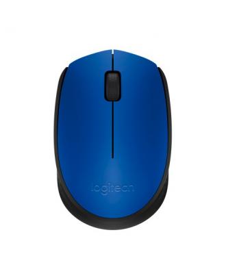 Mouse Inalámbrico Wireless Logitech M170 Azul
