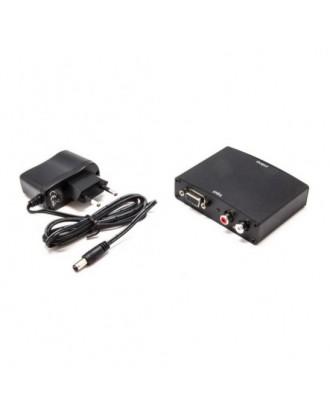 Adaptador Conversor VGA a HDMI Activo