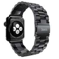 Correa Para Applewatch Acero Hoco 42mm Gunmetal