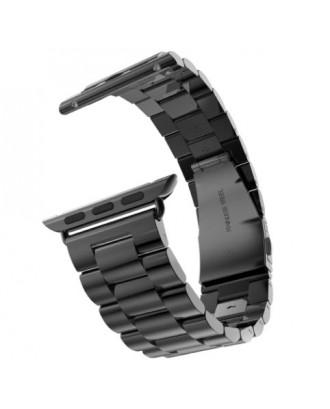 Correa Para Applewatch Acero Hoco 42mm Gunmetal