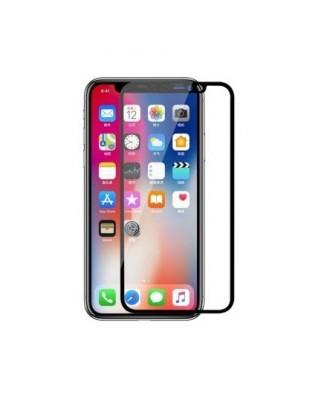 Lamina Vidrio iPhone X / XS / 11 Pro Completa Negra