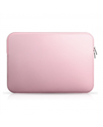 Funda Cuerina Macbook Pro Air Retina 13 / 13.3 Rosada Idools