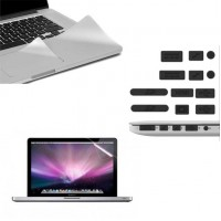 Kit Protector Macbook Air 13 / 13.3 Trackpad Pantalla Tapones Polvo