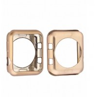 Protector Silicona Para Applewatch Gold 38mm